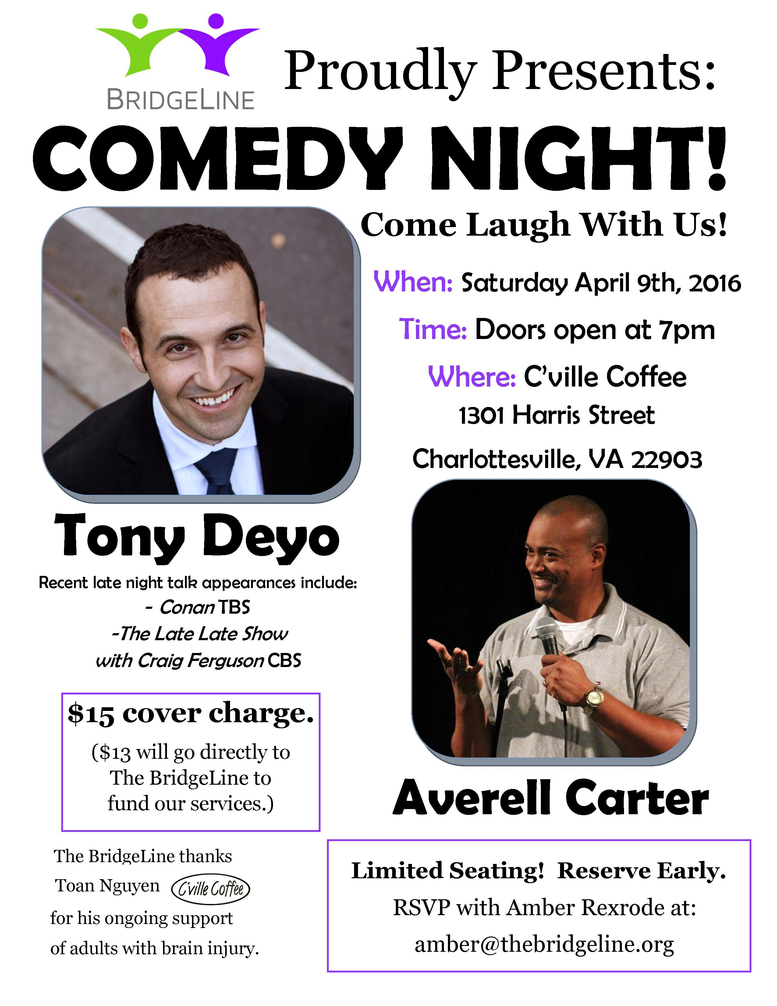 comedy night 2016 flyer