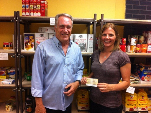Food Bank receives a much needed donation!