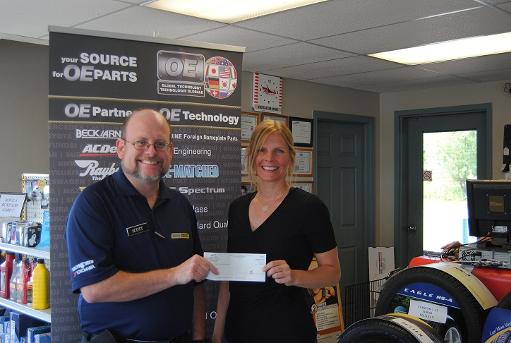 Beverly Tire – Great Community Contributor