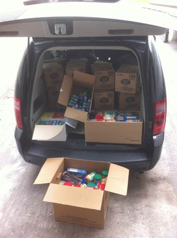 Kraft donates $2,500 plus food!