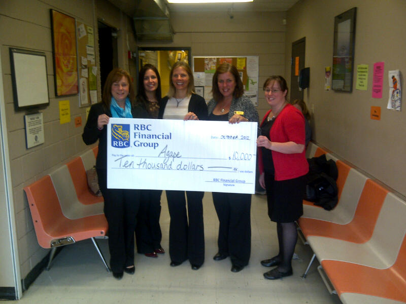 Grant Approved! $10,000 from the Royal Bank of Canada Foundation