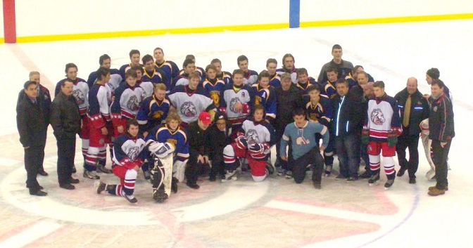 Major Success for Major Midget Colts in Charity Game!!