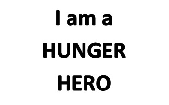 Be a Hunger Hero for a DAY!