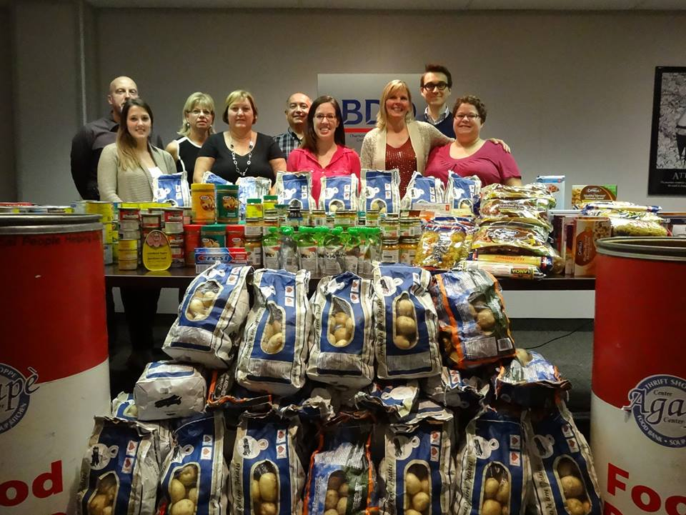 BDO food drive boasts a big haul