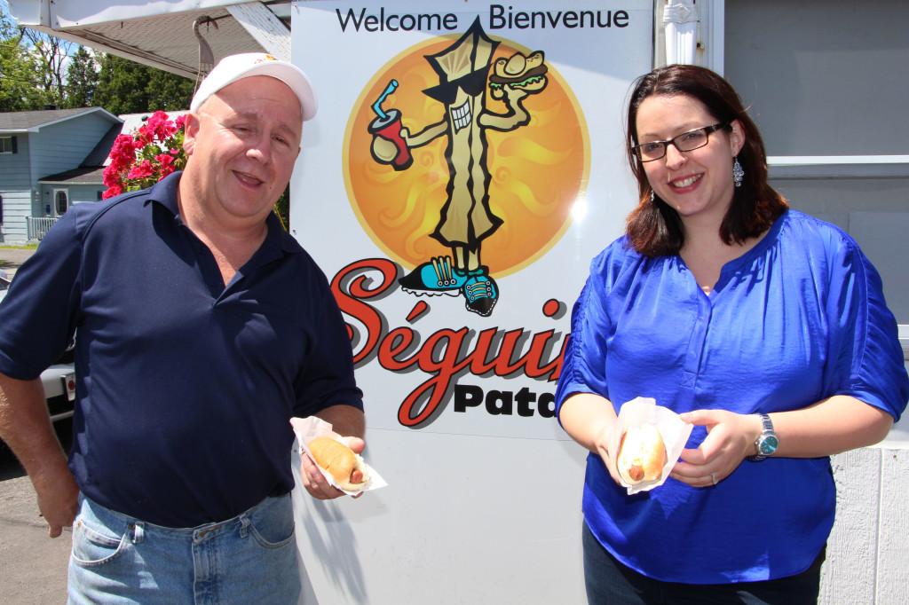Hot dog days for Agapè at Séguin Patate