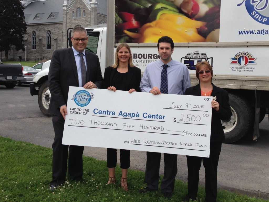 Best Western – Better World Fund donates $2,500 for food purchases