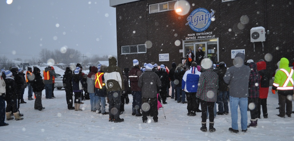 Walk with us: Coldest Night of the Year 2016
