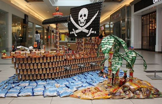 Agape bringing CANstruction Competition to Cornwall