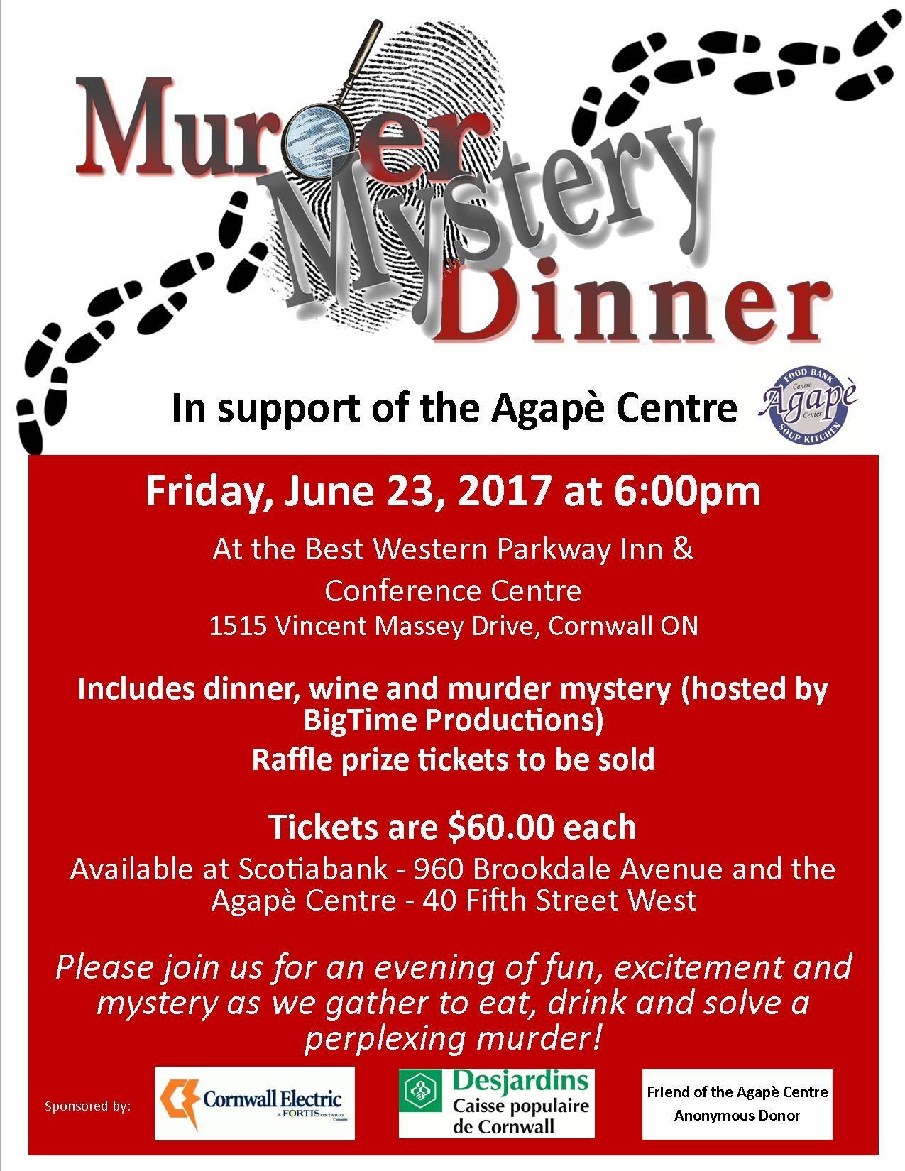 Murder Mystery Fundraising Dinner