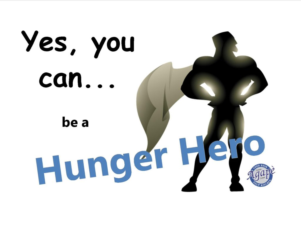 You can be our next Hunger Hero!