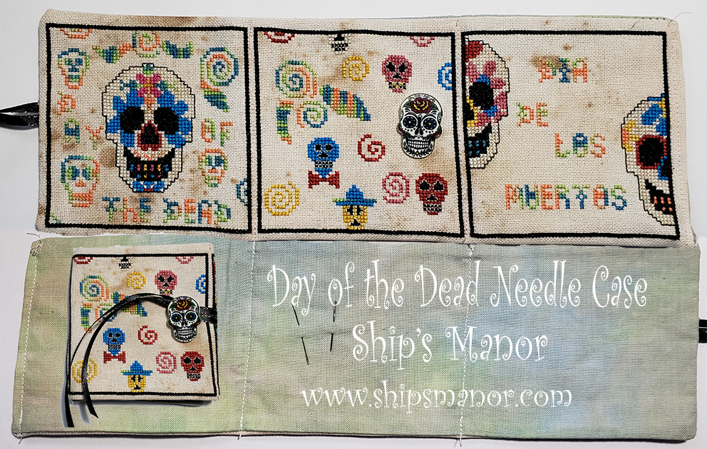 Day of the Dead Needle Case