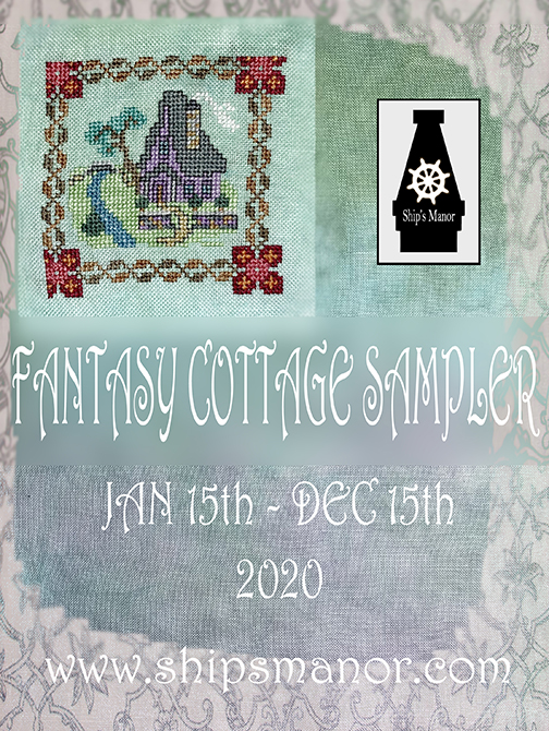 Fantasy Cottage SAL PDF