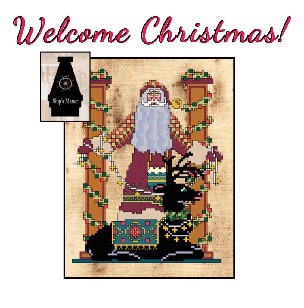 Welcome Christmas! PDF Pattern