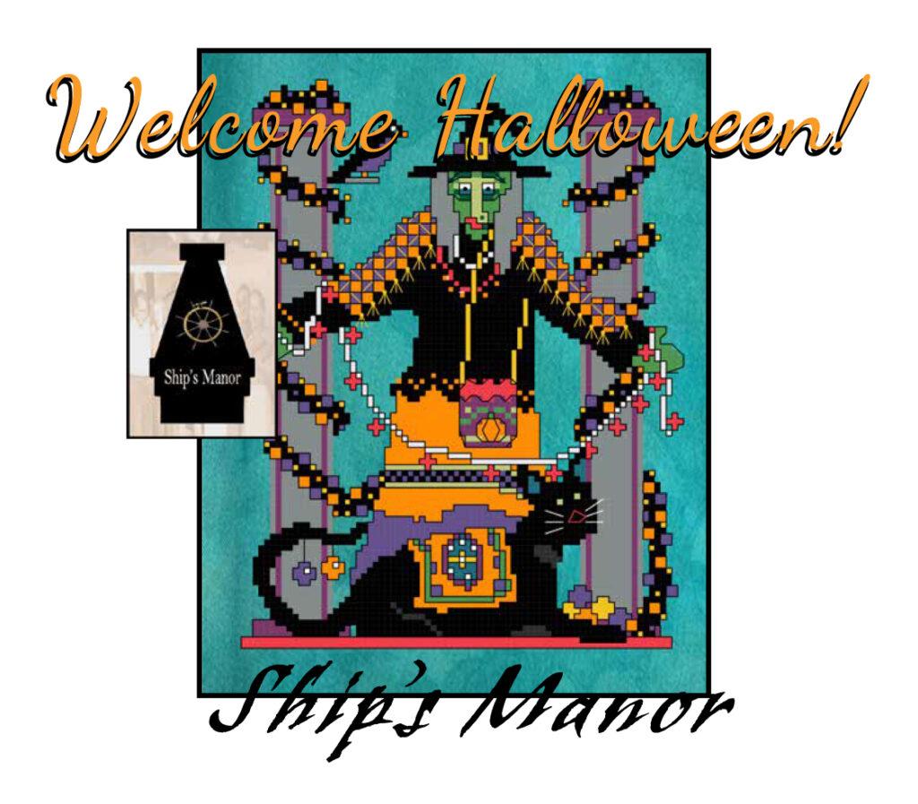 Welcome Halloween! PDF Pattern