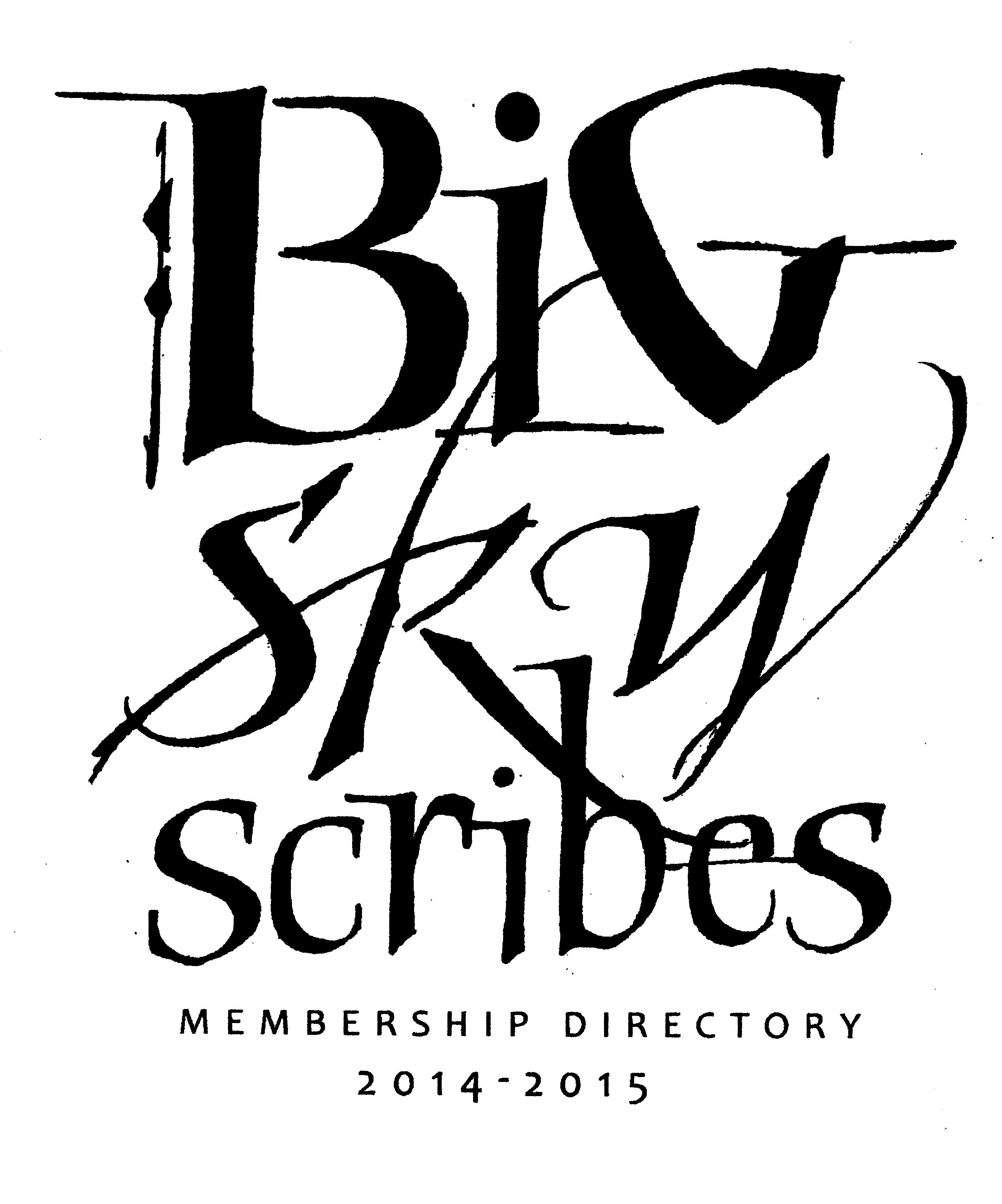 Big Sky Scribes directory cover001