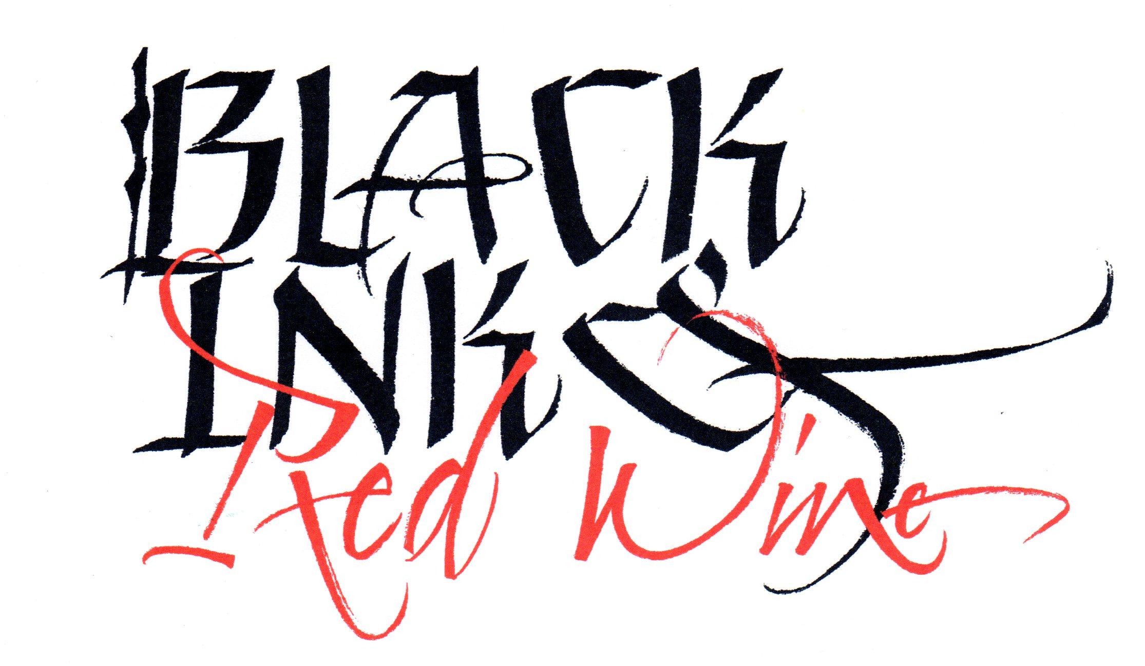 Black Ink & Red Wine Final Logo001
