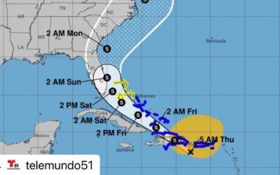 Fuertes rachas de viento azotan el Oriente de Cuba con el paso de tormenta Isaías.