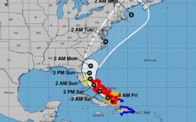 Decreta defensa civil fase informativa en Oriente de Cuba por la tormenta Isaías.