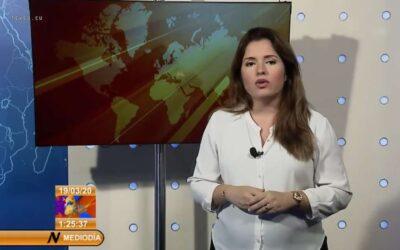 Noticiero «Al Mediodía» otro de los instrumentos que el PCC tiene para engañar al pueblo.