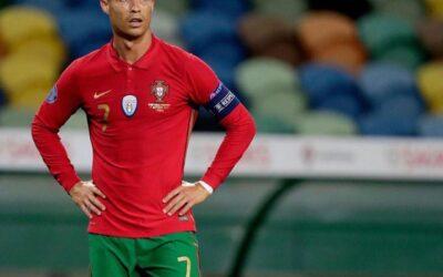 Cristiano Ronaldo da positivo por coronavirus y cancelan su presentación a la selección de Suecia en el amistoso.