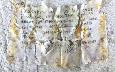 Familia de Miami descubre mensaje en una botella de un niño cubano