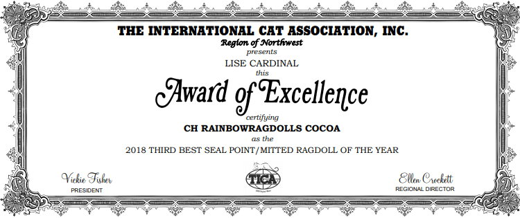 cocoa award