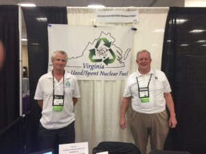 Steve Curtis & Tom Dolan manning the booth at the ANS Expo