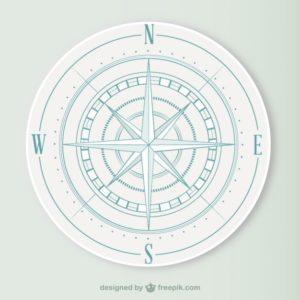 Compass Designed by Freepik