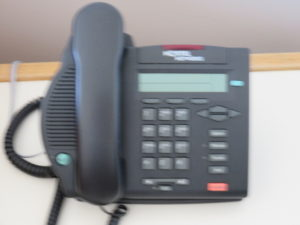 A  piece of history: a Nortel phone