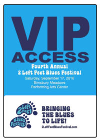 4th Annual 2 Left Feet Blues Festival