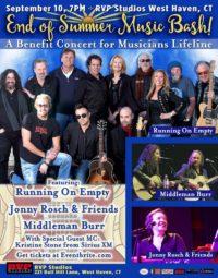 End of Summer Music Bash: A Benefit Concert for Musicians Lifeline