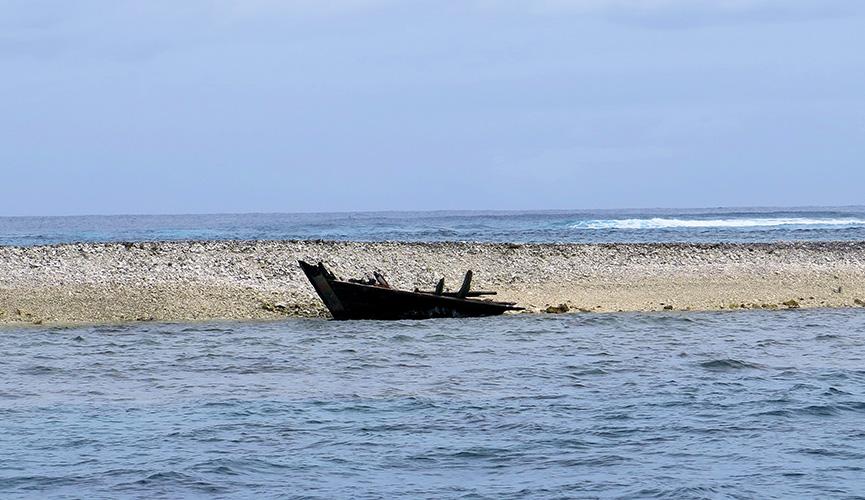 Curtin Maritime - Kingman Shipwreck Salvage - Palmyra Atoll