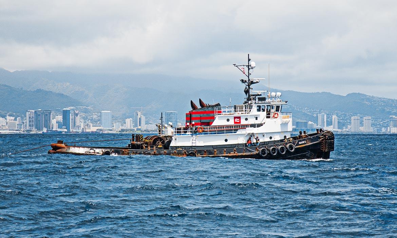 Ocean Tug Curtin Maritime Transportation Marine Towing