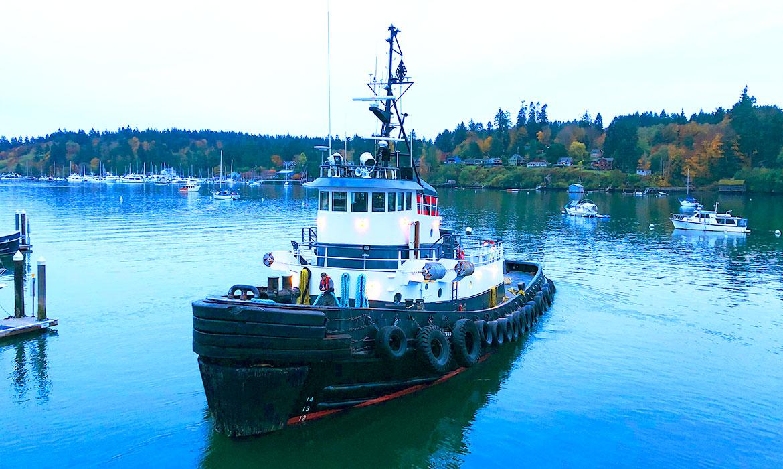 Curtin Maritime ABS Loadline Tug Kimberly-C, Port of Seattle, Port of Long Beach, Ca.