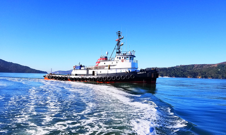 Curtin Maritime ABS Loadline Tug Shirley-C, Port of Seattle, Port of Long Beach, Ca.