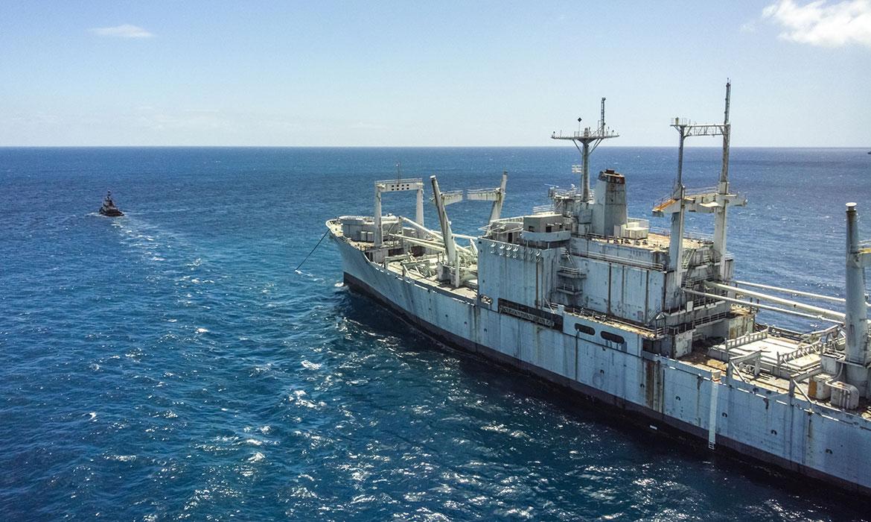Deadship Ocean Towing