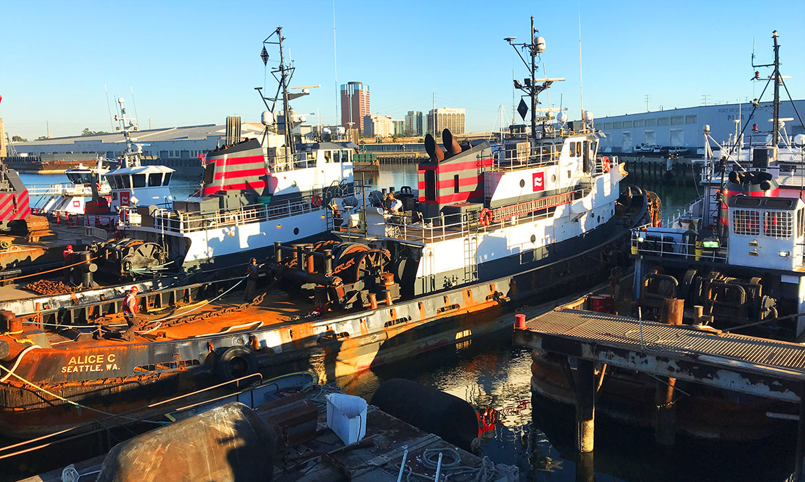 Curtin Maritime Tugboat Alice-C-Port of Seattle, Port of Long Beach