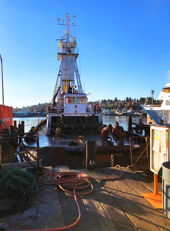 Curtin Maritime Tugboat Karen C Port of Seattle, Port of Long Beach