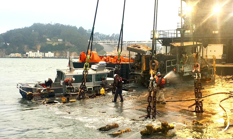 marine salvage wreck removal emergency response db vengeance