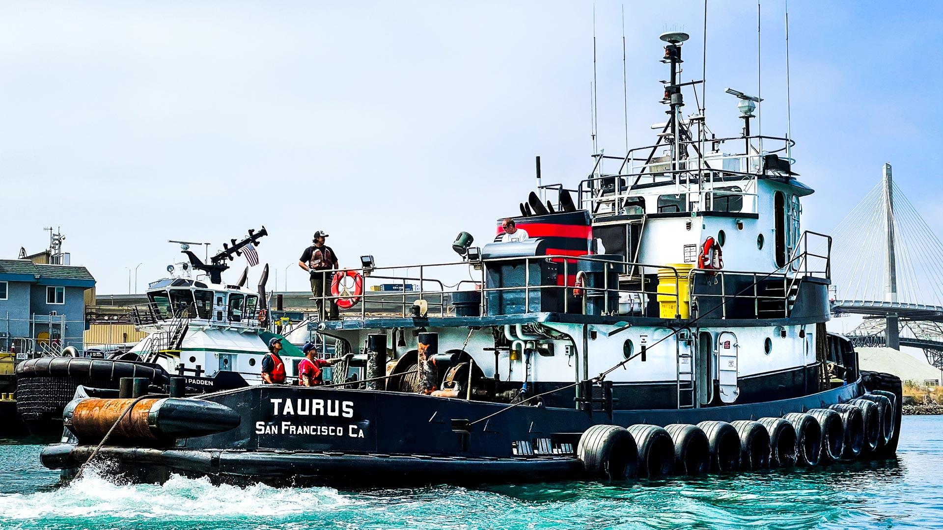 Taurus Coastal Tugboat Curtin Maritime Coastal Towing