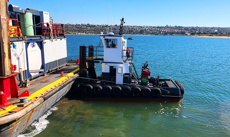 Tugboat Baby T Small Tug Push Knees