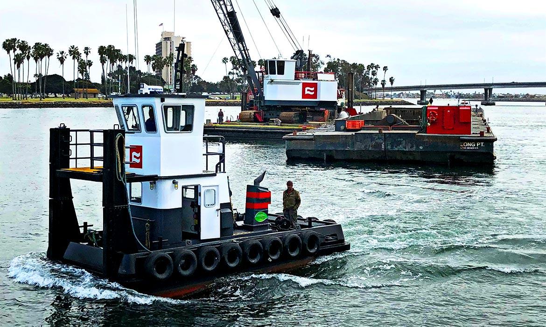 Truckable Push Boat Tug - Curtin Maritime, Corp.