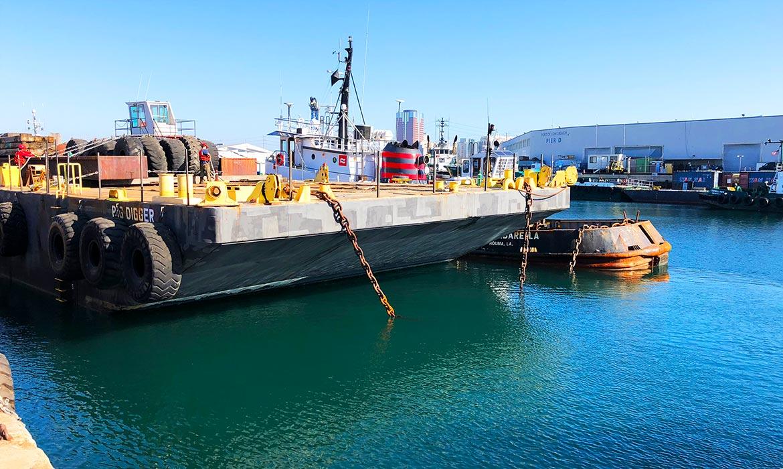Barge Towing - Long Beach, CA. – Port Fourchon, LA.
