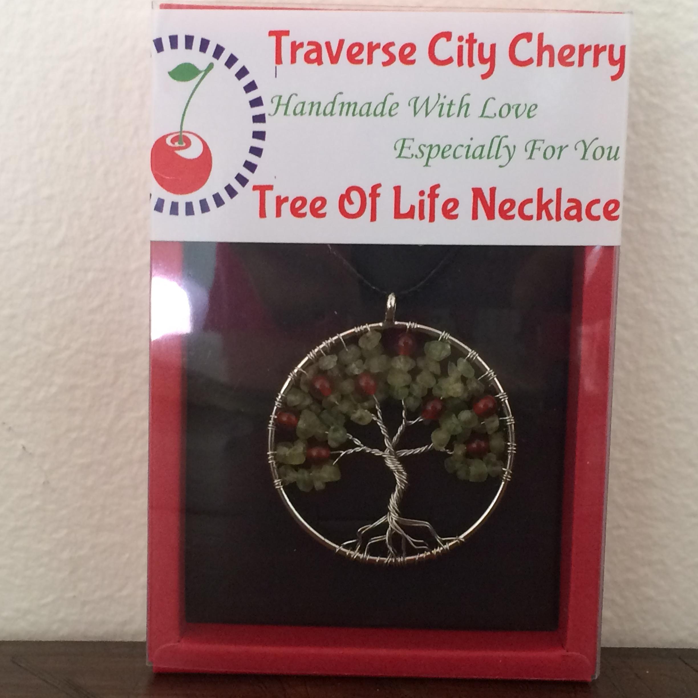 Cherry Tree of Life Necklace