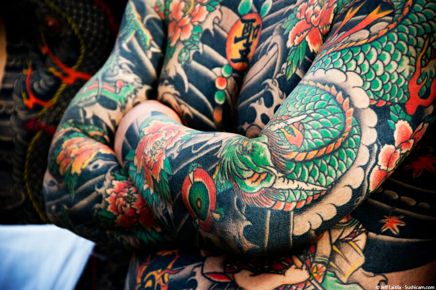 Yakuza Style Tattoo