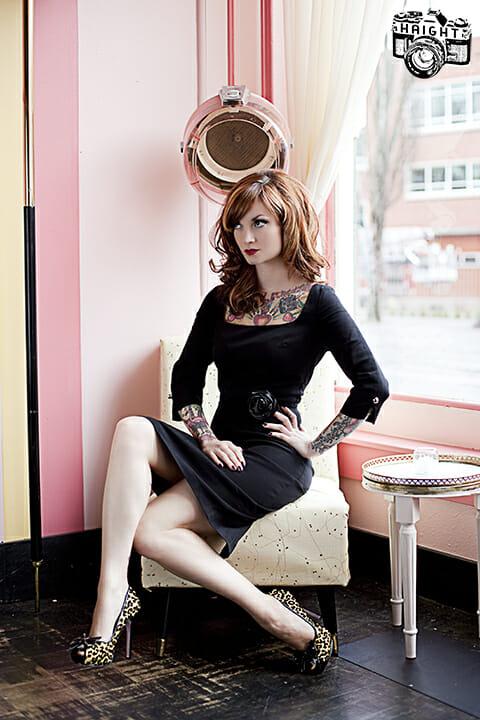 Tattooed Model The Cherry Dollface