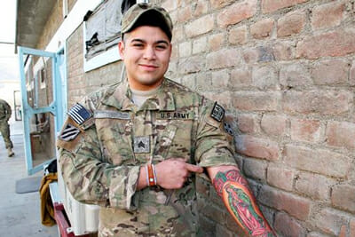Tattoo Ban in the Military