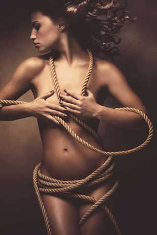 Woman in Rope
