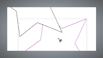 trimming overlapping vectors of a star