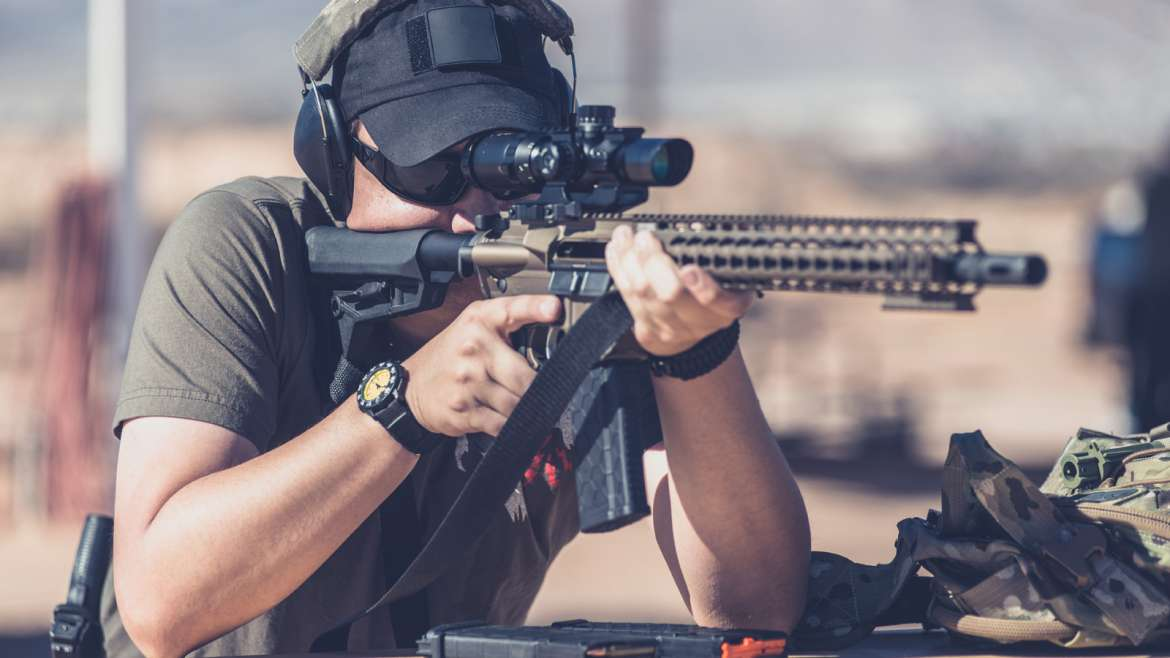 Live Shooting Range Private Lessons